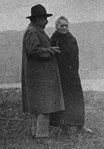 Marie Curie et Albert Einstein