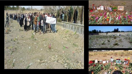 گورستان خاوران نمادی از مقاومت، ایستادگی، و دادخواهی: asre-nou.net